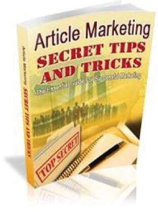 article-marketing-secret-tips-and-tricks